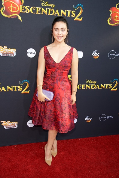 Brenna D'Amico Descendants 2 Red Carpet Premiere