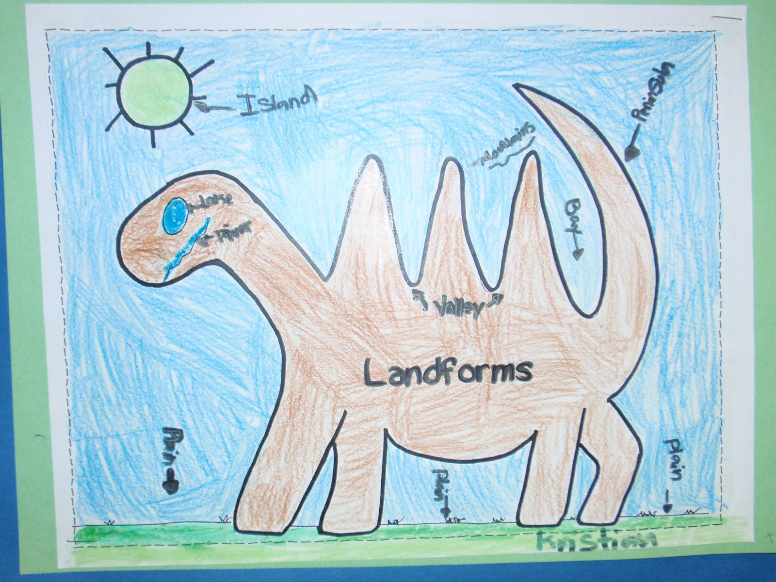 Mrs Castro S Class Landform Dinosaur