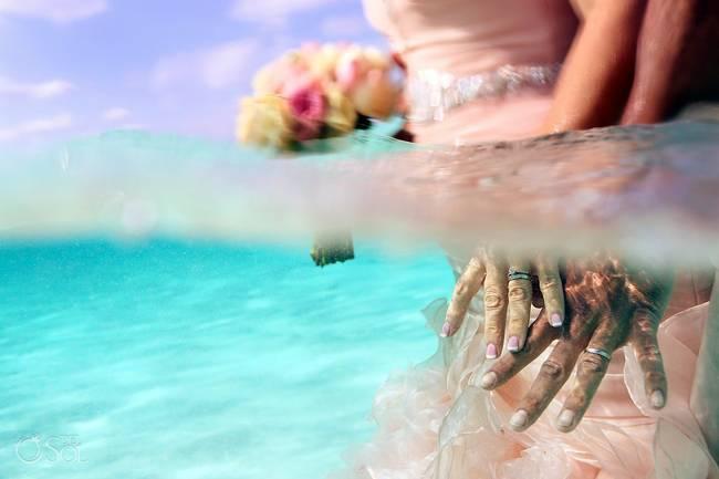 incrivel casamento realizado no mar no caribe 09 - Um casamento no meio do mar. Diferente de tudo que você já viu.