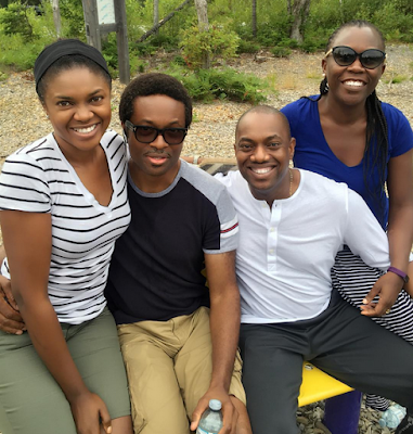 77 - Omoni & Nnamdi Oboli join Tara & Fela Durotoye for a Vacation in baecation