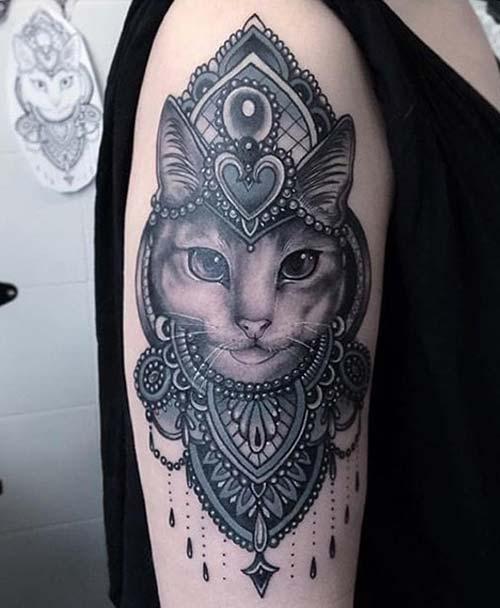 kedi dövmeleri cat tattoos 56