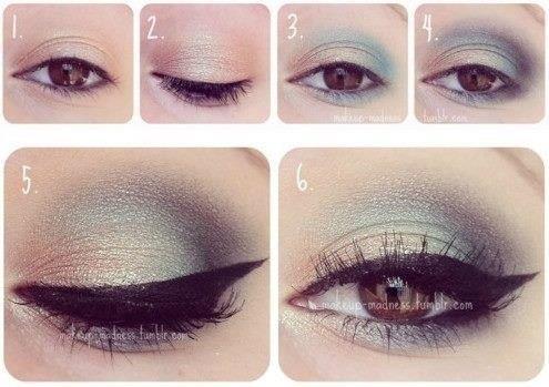 Maquillaje de ojos para noche paso a paso bella en casa - Ojos ahumados para principiantes ...