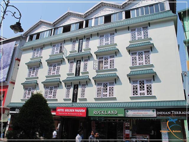 Gangtok, a capital de Sikkim na Índia