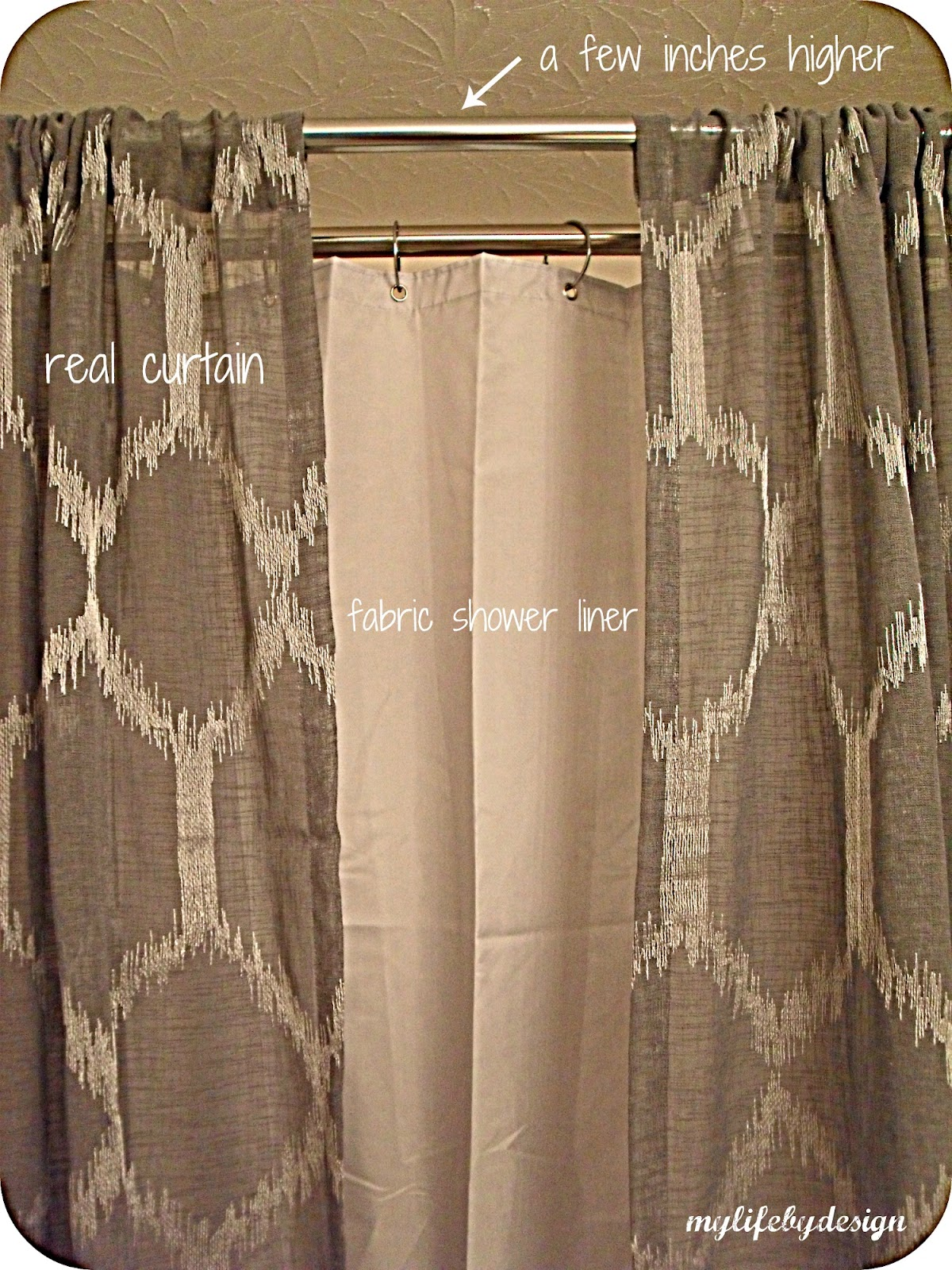 Double Rod Shower Curtain Rod Sevenstonesinccom