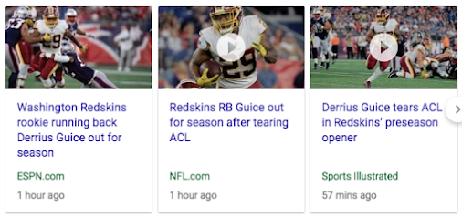 29 49 50 83 | Derrius Guice out for the season with torn ACL, 49-days after his birthday, August 9, ...