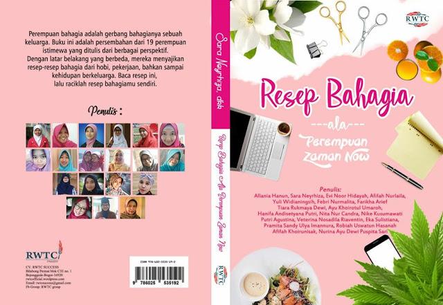 Launching Buku Resep Bahagia Ala Perempuan Zaman Now