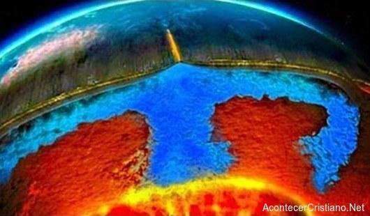 Agua en las profundidades de la Tierra
