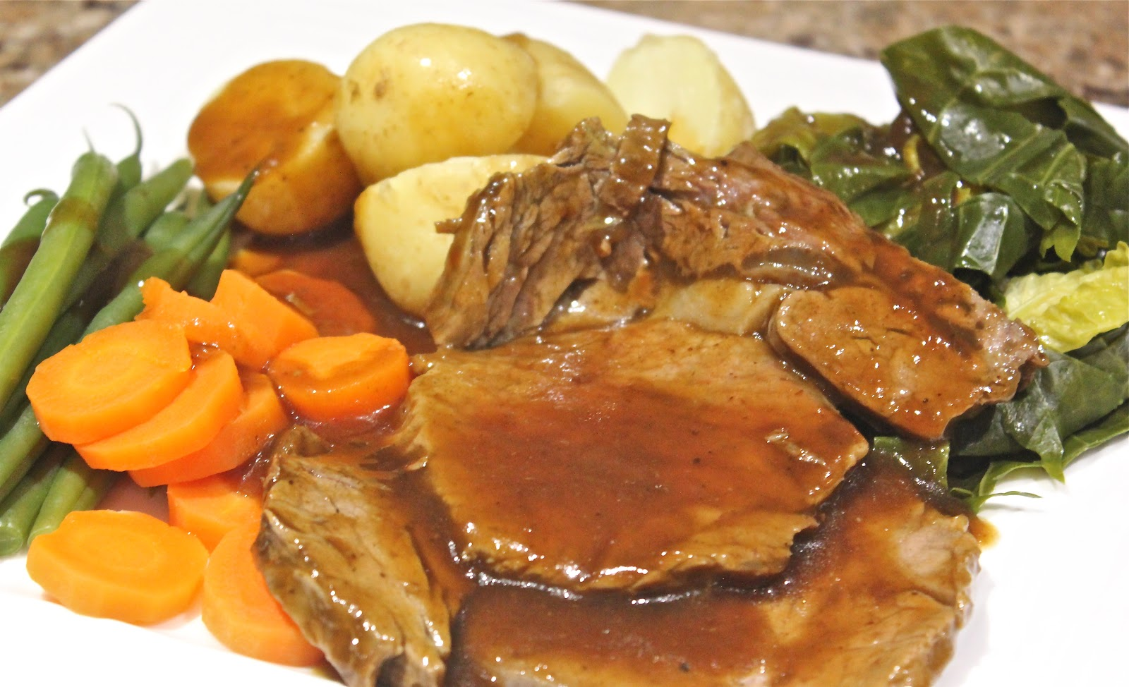 ROAST BEEF DINNER - forget dieting forever