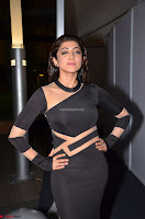 Pranitha Subhash in a skin tight backless brown gown at 64th Jio Filmfare Awards South ~  Exclusive 073.JPG