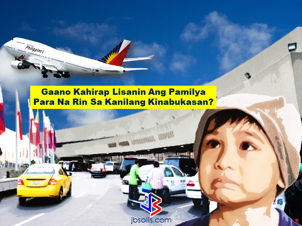 "Have you ever seen a leaving parent with his/her child cries as if it will never stop? These kind of drama is not unusual if you go to the departure area of the ninoy Aquino International Airport. Our OFWs can relate for they are the ones who usually experience these kind of scenes. For the OFWs and their families, they can never get used to it, especially their kids. That's why I choose not to bring my children with me during my departure. I can't stand to look at them crying while they watch me leave. The goodbyes are not forever but their crying faces embedded with sadness will haunt you for years. With eyes soaked in tears looking at you like asking ""If you love me, daddy/mommy, why would you leave and why wouldn't you bring me with you?""  Have you had the same feeling? Government statistics said that there are average of 2,500 OFWs going out of the country everyday comprising the growing number of Filipino overseas workers deployed in different parts of the globe now reaching more than 10 million. It is said that lack of adequate employment opportunities with good salary pushes Filipinos to work abroad. Moreover, citizens with ages over the accepted bracket to be hired locally is also being left with no choice but to find their luck overseas.  Where did it all began? Overseas migration absorbed a significant amount of Philippine labor. From the late 1940s through the 1970s, migrants were largely Filipino members of the United States armed services, professionals, and relatives of those who had previously migrated. After liberalization of the United States Immigration and Nationality Act in October 1965, the number of United States immigrant visas issued to Filipinos increased dramatically from approximately 2,500 in 1965 to more than 25,000 in 1970. Most of those emigrating were professionals and their families. By 1990 Filipino-Americans numbered 1.4 million, making them the largest Asian community in the United States. In the 1970s and 1980s, a different flow of migration developed: most emigrants were workers engaged in contract work in the Middle East. Although some were professionals, the majority were production, construction, and transport and equipment workers or operators, as well as service workers. An increasing number also were merchant seamen. With bigger wages paid for overseas contract work have been a multiple of what Filipinos could earn at home, such employment opportunities have been in great demand. Government statistics show that overseas placements of land-based workers increased from 12,500 in 1975 to 385,000 in 1988, a growth rate of about 30 percent per annum. The number of seamen also increased, from 23,500 in 1975, to almost 86,000 in 1988. The average stay abroad was 3.1 years for land-based workers and 6.3 years for seamen.   Out of more than 10 million OFWs in the world, most of the women are working as household service workers. Most of the located in Hong Kong, Malaysia, Singapore and other neighboring Asian  countries, Europe and in the Middle East, Particularly Saudi Arabia, UAE, and Kuwait where a significant number of cases of maltreatment and abuse could be read almost everyday. Today, many OFW families suffer miscommunication in spite advanced technologies and the rise of internet and computers. Gaps between OFW and children and even their spouse has been on the rise. Family harmony is being sacrificed for the sake of a ""better future"". OFW children lacking guidance, marriage being destroyed, relationships getting colder and eventually die. Filipinos are known for having close family ties and the Westerners admire us for being such. The trait that is being marred by migration.  President Rodrigo Duterte once said during his speech that he wants that the generation of the OFWs would end soon. That when Filipinos need to travel, it would be for leisure and not to work anymore.  If this will happen in the near future that no Filipinos would leave the country for work, it is going to be the best future that every OFWs dream about. Working at the comfort of your own country with your family around. No relationships will be broken, no children will go astray and no kids will cry at the airport doubting if their parents really love them or not. Read More:       ©2017 THOUGHTSKOTO www.jbsolis.com SEARCH JBSOLIS, TYPE KEYWORDS and TITLE OF ARTICLE at the box below"