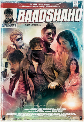 Baadshaho 2017 Hindi DVDRip 480p 200Mb HEVC x265