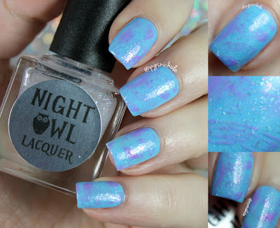Night Owl Lacquer It's All Rainbows & Unicorns
