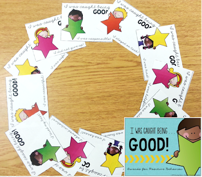 "Free ""Caught Being Good"" Behavior Tickets"