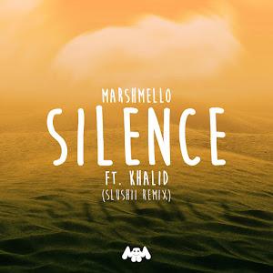 Marshmello, Khalid & Slushii - Silence (Slushii Remix) - Single Cover