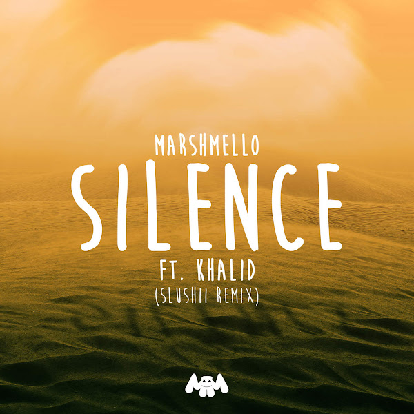Marshmello, Khalid & Slushii - Silence (Slushii Remix) - Single Cover