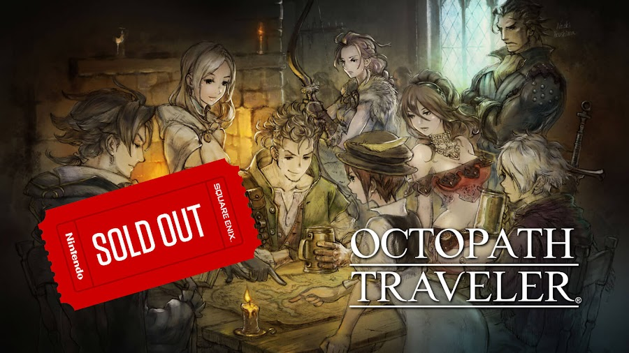 octopath traveler sold out stock japan