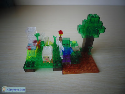 My Minecrafts Garden bricks toy 1