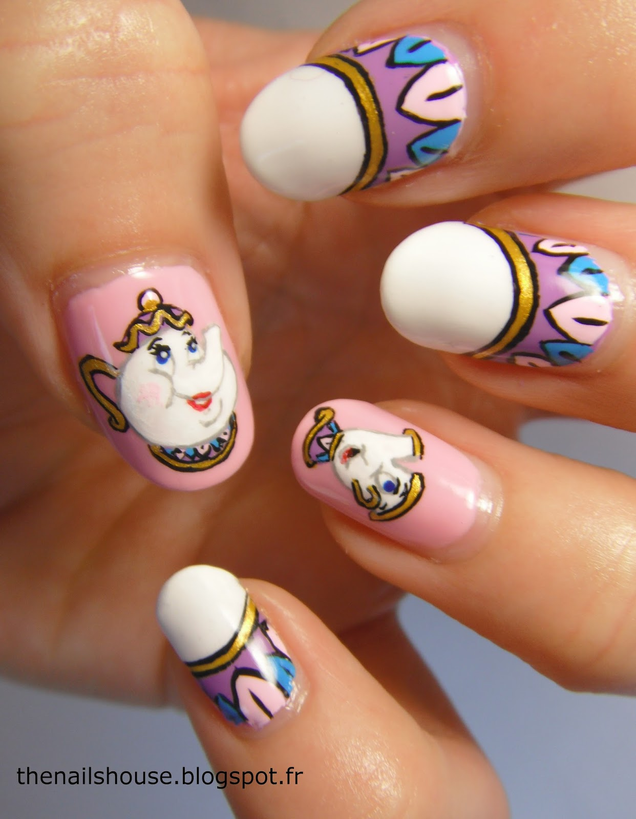 Beauty U0026 The Beast Inspired Nail Art Ideas You Must Try!