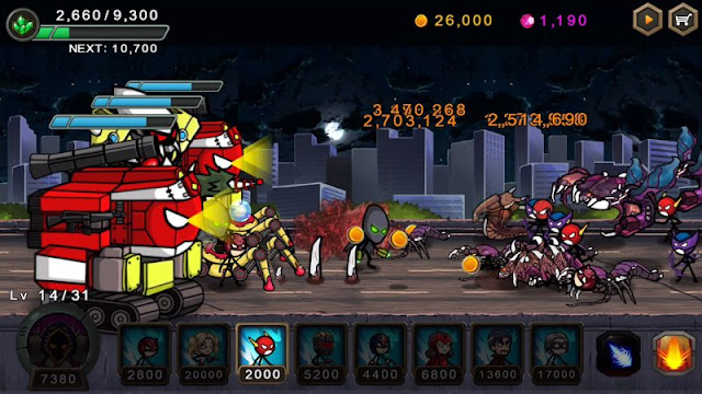 تحميل لعبة Hero Wars مهكرة للاندرويد آخر اصدار