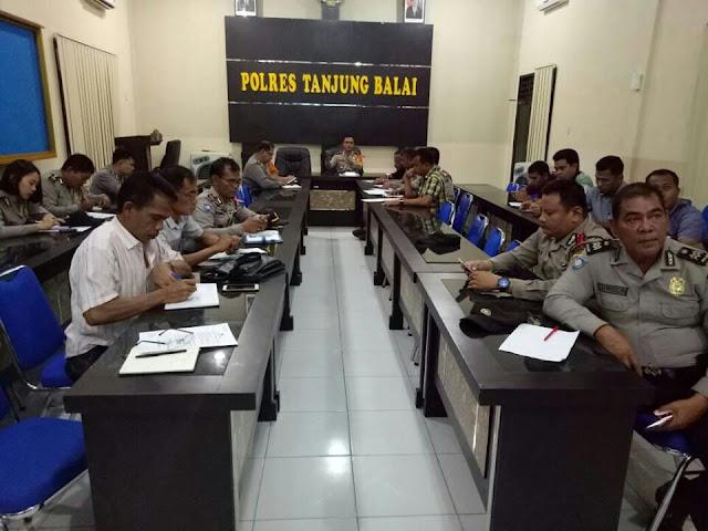 Polres Tanjung Balai Bentuk Satgas Nusantara Pilgub 2018.