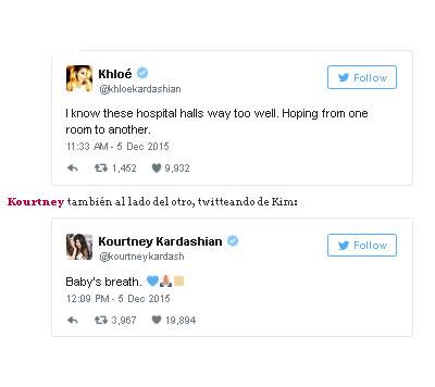Kloe Kardashian visita a sobrino