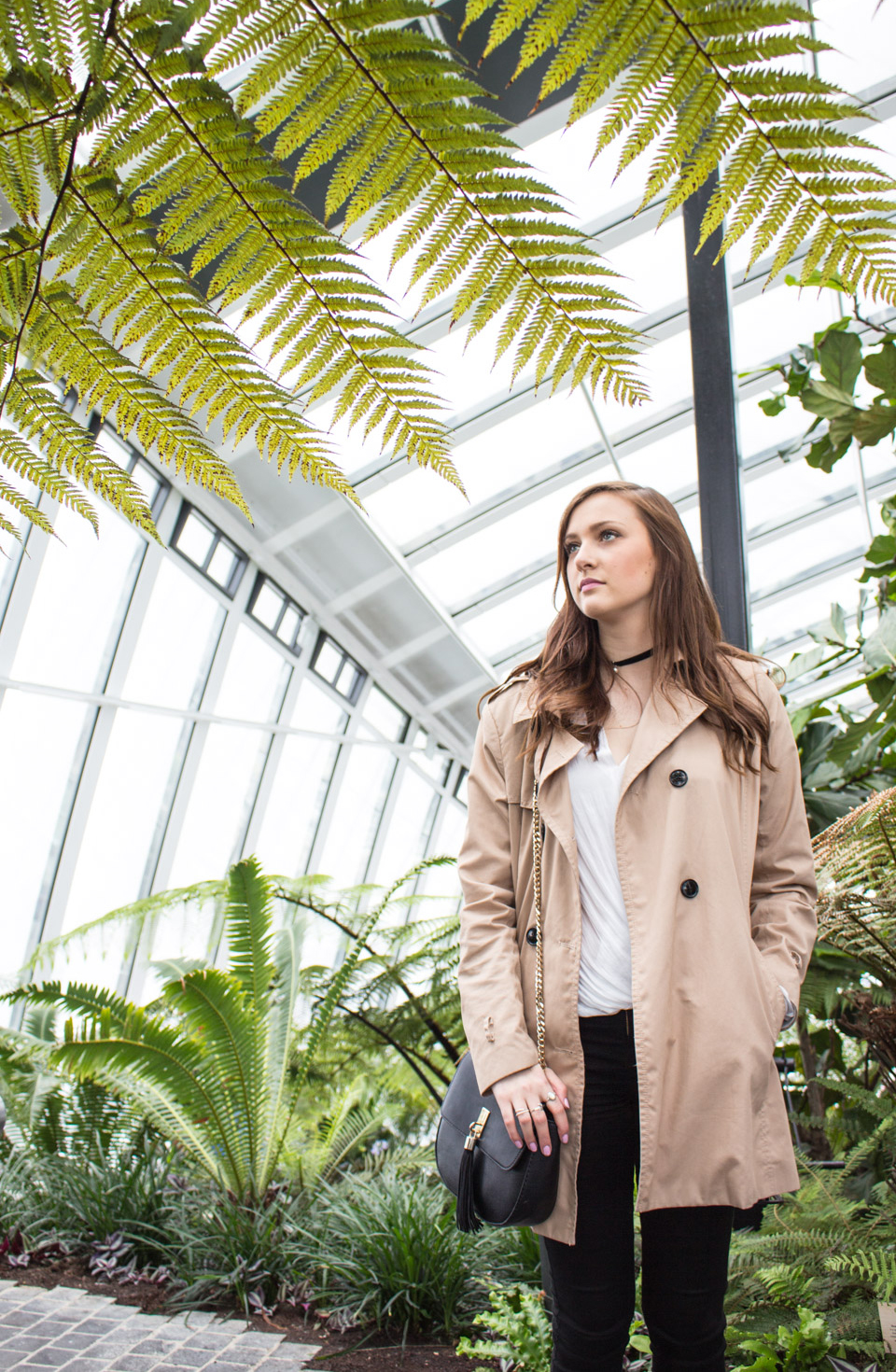 Jungle In The Sky // The Casual Trench // Sky Garden London // Weekend OOTD WIWT FASHION STYLE BLOGGER // Lauren Rose