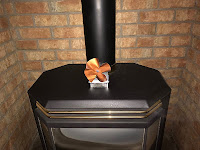 Eco Wood Stove Fan