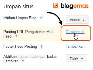 Cara Mengatur Tampilan Halaman Feed Blog