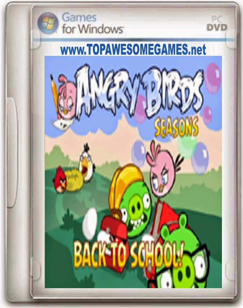 Angry Birds Seasons Back to School Game Free Download