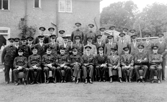 Photograph of North Mymms Special Constabulary Brookmans Park Golf Club 1940