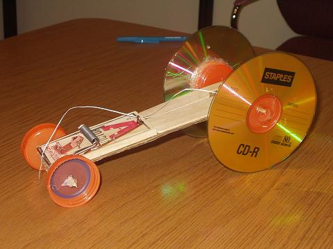 Berriga Design a Mousetrap Car Extra Credit in Science