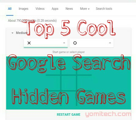 Search engine for games