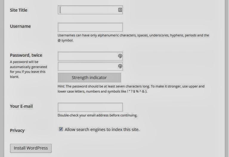websitewordpress Tutorial membuat website dengan wordpress selfhosted Gratis