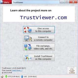 برنامج, TrustViewer, لادارة, اجهزة, الكمبيوتر, عن, بعد, اخر, اصدار