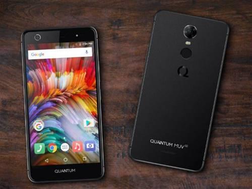 O smartphone Quantum Muv Up tem processador de 8 núcleos, sensor de digital e tela HD