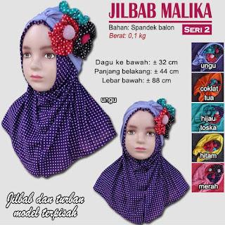 Jilbab anak terbaru lucu dan imut - malika seri 2