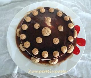 Cheesecake agli amaretti - Dolce senza cottura