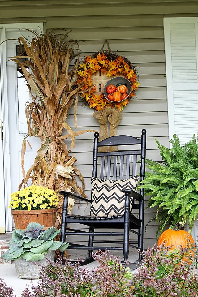 25+ Outdoor Fall Decor Ideas - The Cottage Market on Patio Decorating Ideas With Lights  id=86903