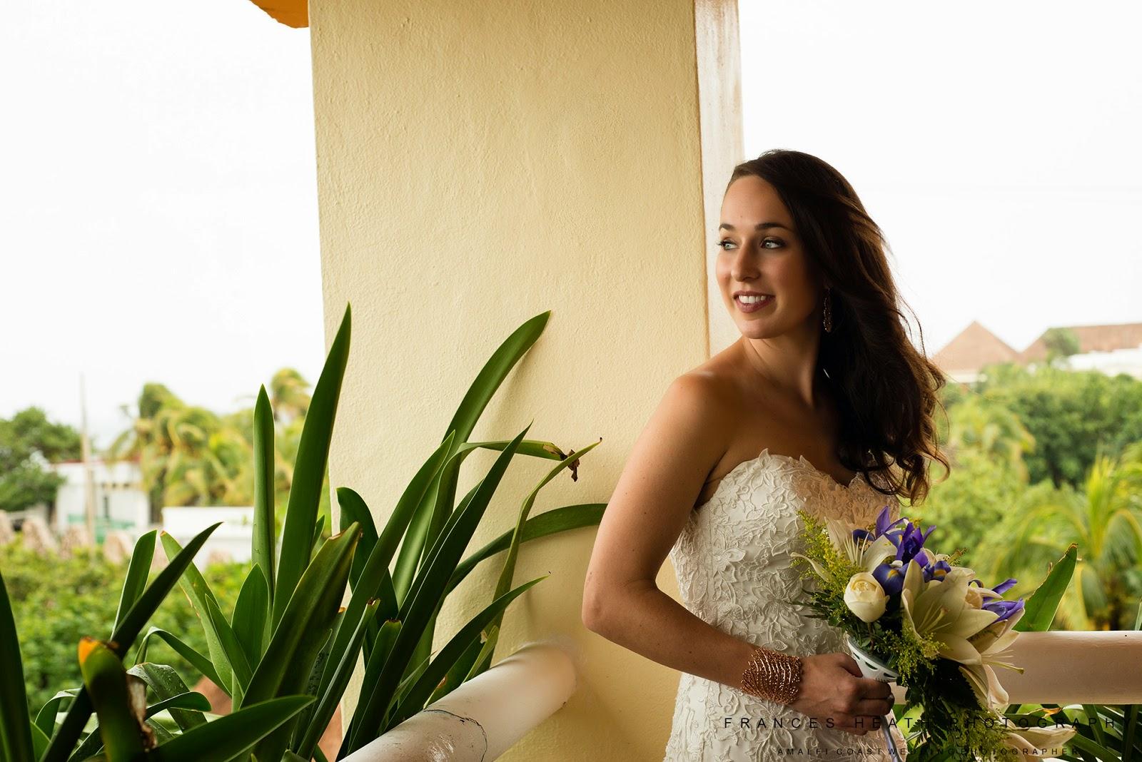 Bride portrait Mexico Tulum
