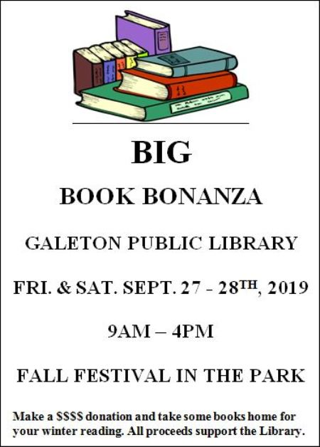 9-27/28 Big Book Bonanza