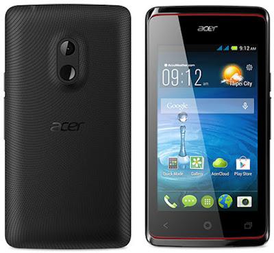 Harga dan Spesifikasi Hp Acer Z200