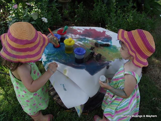 Toddler easy fine motor painting