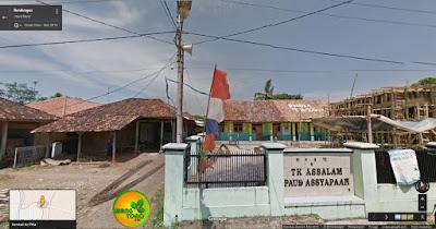 Ini Gg. Menuju Rumah Admin. Foto dari Google Map.