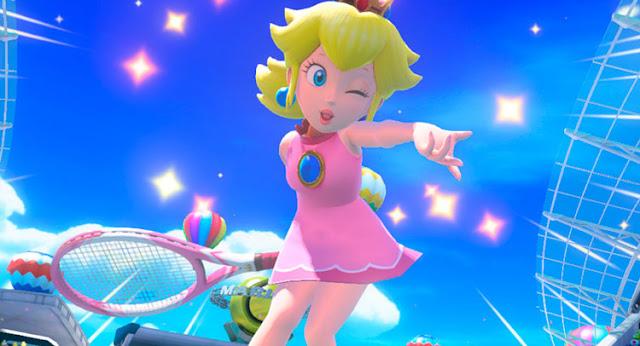 mario tennis aces princess peach