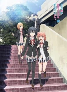 تقرير أنمي كوميديا رومانسية شبابي خاطئة كما توقعت الموسم الثاني Yahari Ore no Seishun Love Comedy wa Machigatteiru. Zoku