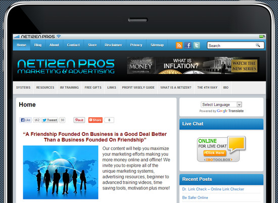 Netizen Pros Marketing & Advertising Infopreneurs