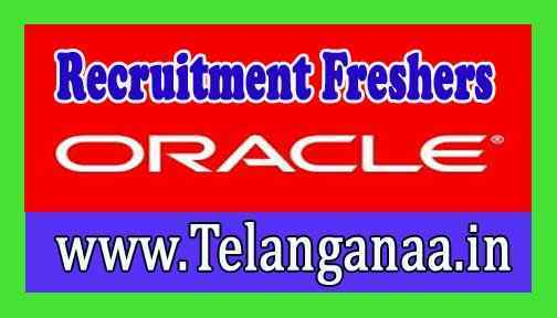 Oracle Recruitment Job For Freshers Apply