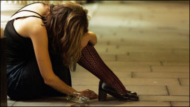 imagen mujer maltratada
