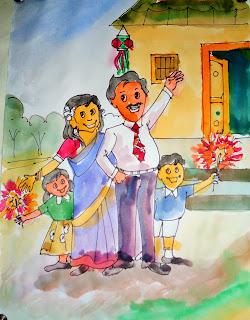 Happy Diwali 2016 images kids 7