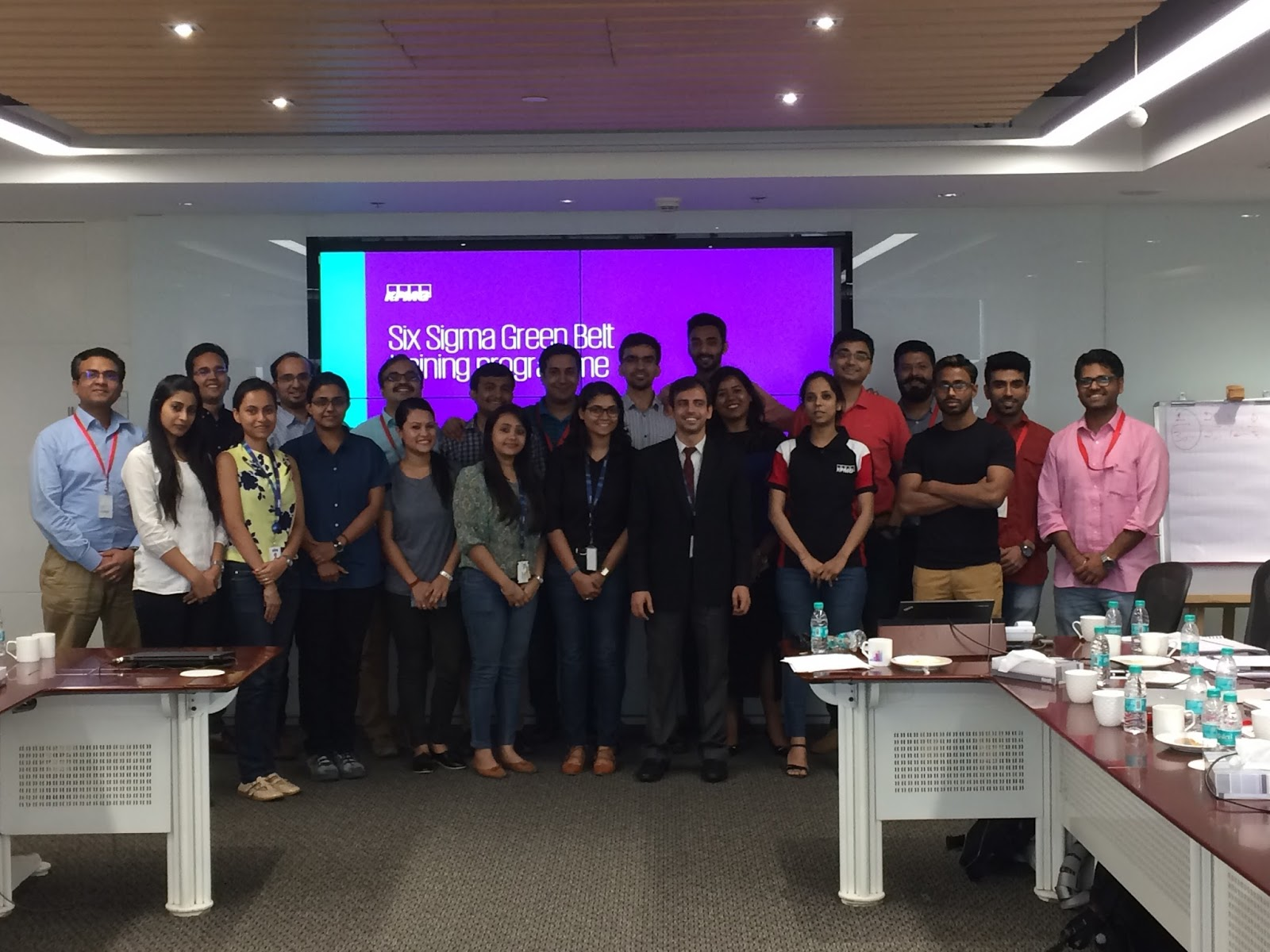 Kpmg Lean Six Sigma Program Gurgaon India Politics Education
